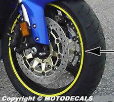 Rim Wheel Stripe Strip Stripes Decals for CBR600RR CBR 600 929 954 1000RR R6 R1