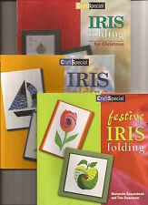Iris Folding Books - Make Greetings Cards for Free!