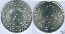 DDR 2 mark prägefrisch o St mate (elija entre: 1957 - 1989)