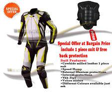 Combinaison de moto cuir GRATUIT Protection dos PERSONNALISER VOTRE pilote