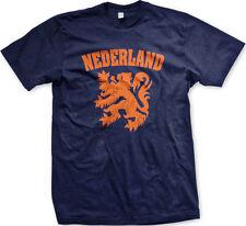 Nederland Netherlands Orange Dutch Lion World Cup Soccer Olympics Mens T-Shirt