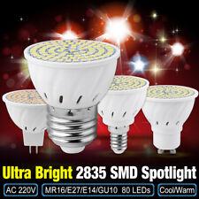 gu10 e27 e14 mr16 8w spotlights lampada 2835 led lamp bulbs for indoor lighting