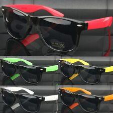 Unisex Classic Timeless Retro Style Coloured Sunglasses 100% UV400 Protection