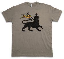LION OF JUDAH I T-SHIRT Bob Rasta Reggae Marley Jamaica Rastafari Irie Ska