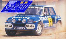 Calcas Renault 5 Maxi Turbo Rally Avilés 1988 5 1:32 1:43 1:24 1:18 decals