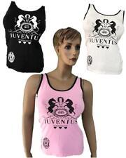 Canotta Donna Juventus Bianco Nera Rosa Logo Storico Juve PS 27095