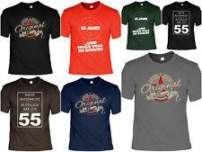 3XL T-Shirt 55 Geburtstag Prädikat Vollendung Original 1964 55ster Damen XS