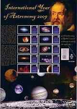 GB 2009 Smilers Sheet BC-239 International Year of Astronomy Ltd Edition CV £50