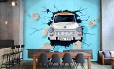 3D Volante Auto 3 Parete Murale Foto Carta da parati immagine sfondo muro stampa