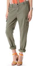 J Brand Croft Olive Green Easy Cargo Pants