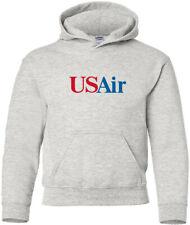 USAir Retro Logo American Airline Hoody