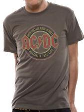 Licenza ufficiale AC/DC-Australia EST 1973 Music T-Shirt S-XXL