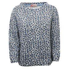 C8638 felpa donna ALTEA camouflage blu sweatshirt cotton blue woman