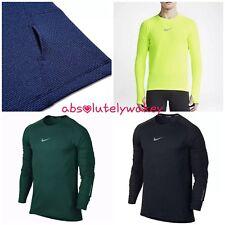 Nike Men's AeroReact Long Sleeve Running Top Shirt Dri-Fit w thumbholes