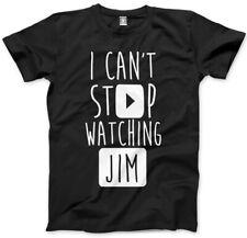 No puedo dejar de ver Jim-vlogger Star youtubers T-Shirt muchos Tamaños