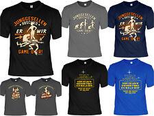 Junggesellen T-Shirt - Gruppenshirt Junggesellenabschied - Bräutigam Party Shirt