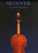 Skinner Fine Violin Viola Musical Instruments Post Auction Catalog '2002'