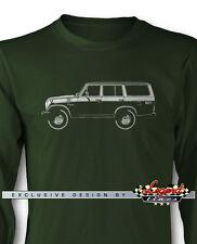 Toyota BJ55 FJ55 Land Cruiser Long Sleeves T-Shirt - Multiple Colors and Sizes