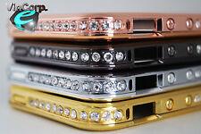 iPhone 5 / 5s / Diamant Strass Gold Silber Bronze Schutz Bumper Cover Case