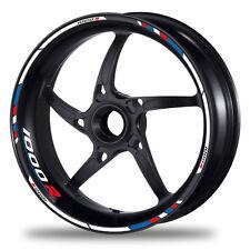 FELGENRANDAUFKLEBER passend für BMW S 1000 R - Moto GP Style blau-rot