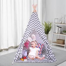 Children Canvas Tent Boy And Girl Tent Indoor Outdoor TentIndian Sleep Play Tent