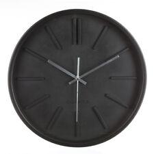 Horloge murale design 35 cm - Noir
