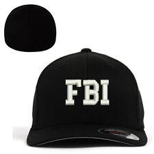 Flexfit BASEBALL CAP FBI Federal Bureau of Investigation Military Cap Hat