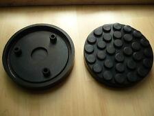 Auflageteller Gummiauflagen Gummiauflage Gummiteller OMCN Hebebühne 145mm x 26mm