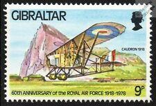 RFC / Raf Caudron G. 3 Aviones avión Sello de menta (Gibraltar)