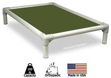 Kuranda Indoor/Outdoor Dog Bed - Almond Frame - Cordura Fabric - Olive