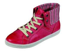 cvf 220227 Dockers Damen Stiefel Stiefeletten Schnürschuhe Schuhe Gr.36-42 rot