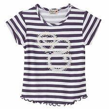 CHIPIE T-Shirt blau weiß Streifen Zierperlen  98 104 110 122 128 134 140 146 152