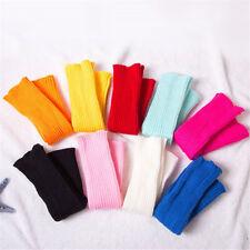 Women Fashion Thick Warm Knitted Elastic Flanging Long Tube Floor Socks  JO