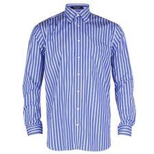 Gant Regent popelín Stripe Camisa-Azul Marino
