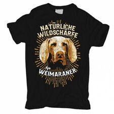 T-Shirt Weimaraner - Natürliche Wildschärfe hunde dogs rasse haustier zucht