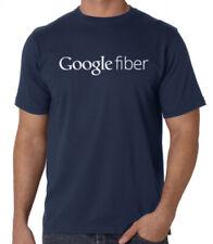 Google Fiber broadband internet t-shirt