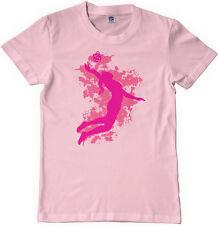 Threadrock Girls Volleyball Player Youth T-shirt Spike Team Sport Design