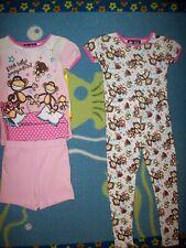 Bobby Jack Pajamas Sleepwear 2pc Set Girls Original Bobby 5 Little Bobbys New