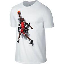 Air Jordan IX West Madison Street Men's T-Shirt White/Black 687820-100