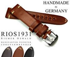 20mm /18 Shell Cordovan RIOS1931 Germany robust Vintage Aviator Look Uhrenband