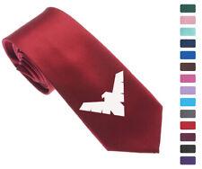 "Nightwing Symbol Men Woven Skinny 2.5"" Party Tie Necktie K59"