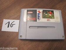 Cartuccia videogioco super nintendo fifa soccer 96 1996 ea sports snsp-a6sp-eur