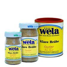 Klare Brühe, universell einsetzbare Suppen Basis zum Würzen - wela (0,23€ / L)