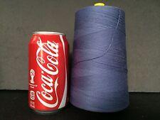 Coats Dual Duty Polyester Corespun Thread Tex 105     6000 yds Stone Blue
