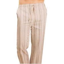 Uomo Pigiama PJ Lounge Abbigliamento Notte Pantalone Fondo Tessuto Misto Cotone
