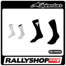 Alpinestars RACE SOCKS underwear FIA Black White NOMEX Sport Racing Rally