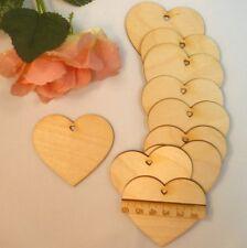 Holzherzen mit Herzloch 6cm, 8cm, 11cm Tischkarte Dekoration EHL Herzen aus Holz