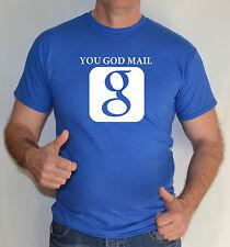 Che Dio Mail, cristiani, Gesù, divertente maglietta