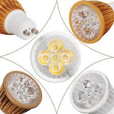 GU10 Dimmable LED Spotlight 9 W 12 W 15 W Silver Golden Brown Shell Light Bulbs