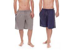 Para Hombre 100% algodón Jersey Salón Shorts Lounge Wear Verano Vacaciones B209